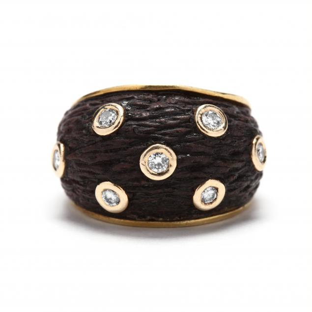 18kt-wood-and-diamond-ring