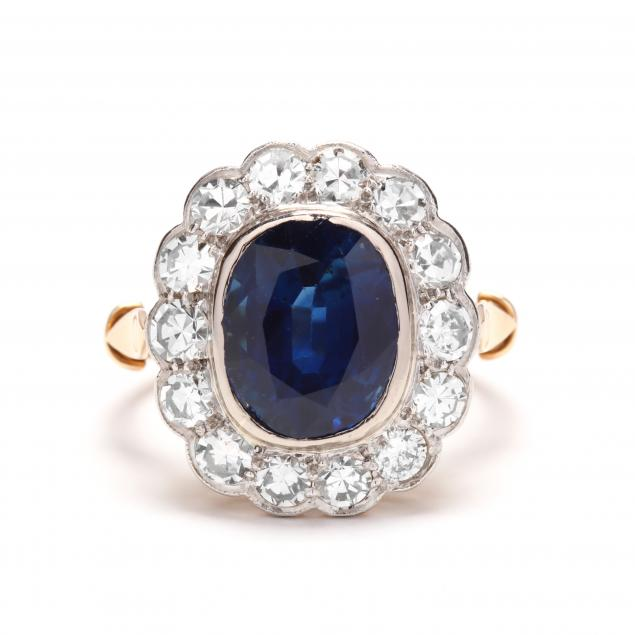 platinum-topped-gold-sapphire-and-diamond-ring