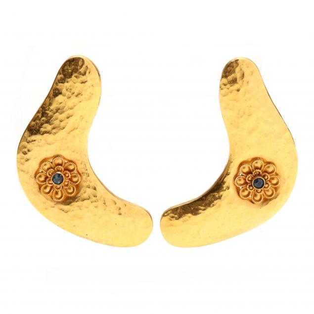 high-karat-gold-earrings