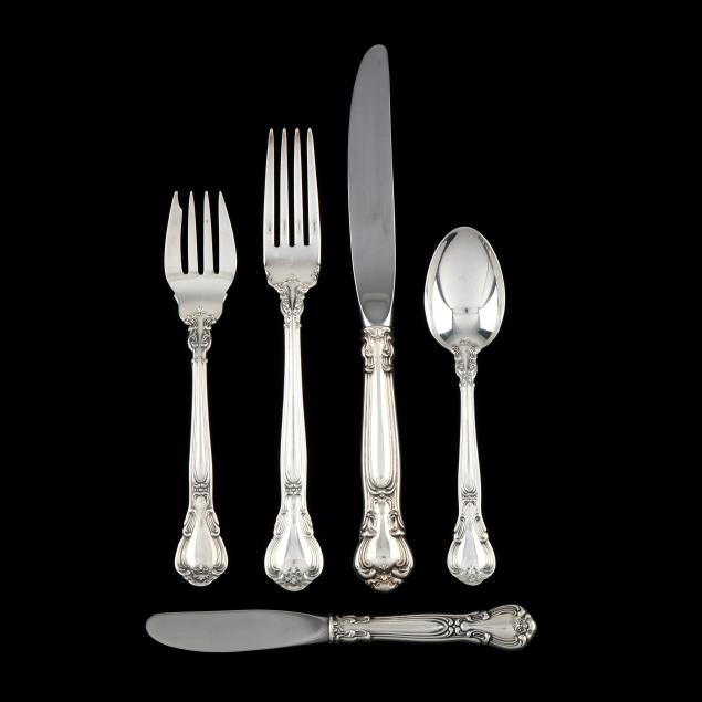 gorham-chantilly-sterling-silver-flatware