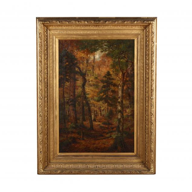 edmund-elisha-case-ma-ct-1844-1919-forest-interior