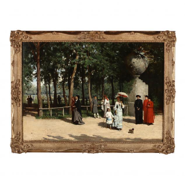 horace-van-ruith-1840-1923-promenading-in-rome