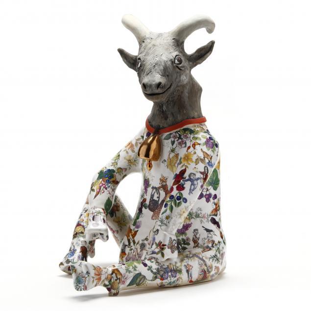 nc-pottery-carol-gentithes-fantastical-animal-figural