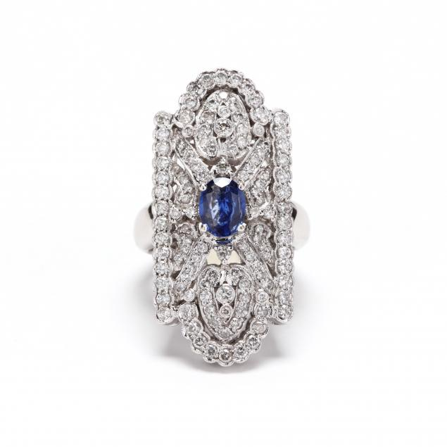 18kt-white-gold-sapphire-and-diamond-ring