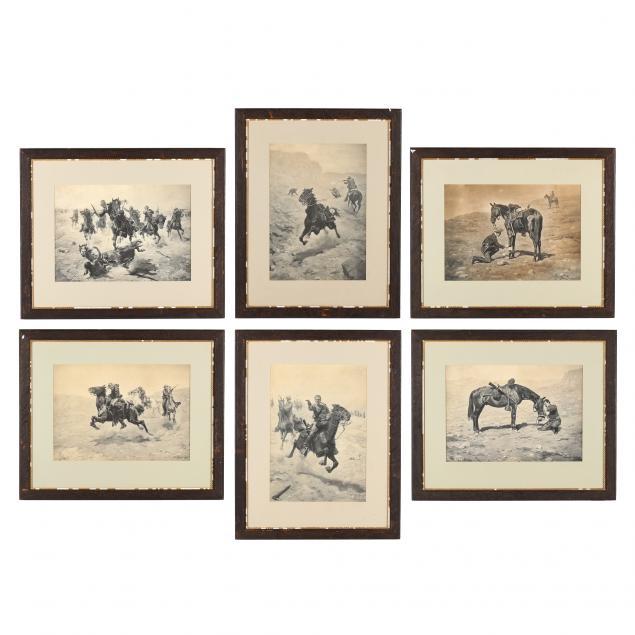 charles-schreyvogel-american-1861-1912-six-antique-platinum-prints