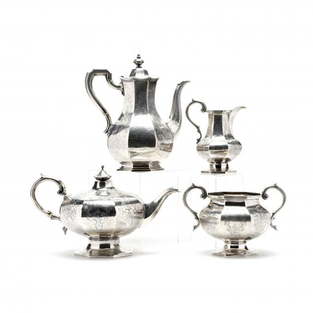 victorian-silver-tea-coffee-service
