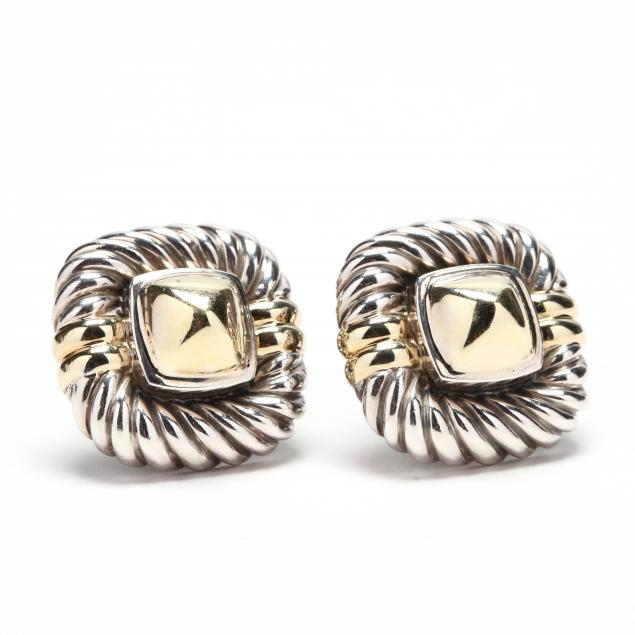 sterling-silver-and-14kt-gold-earrings-david-yurman
