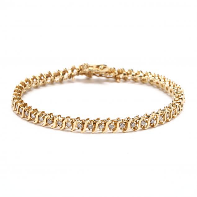14kt-gold-diamond-bracelet