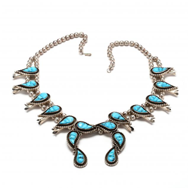 southwestern-silver-and-turquoise-squash-blossom-necklace-n-spencer