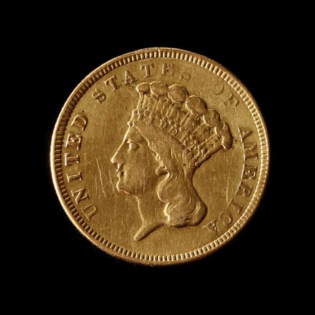1854-o-indian-princess-3-gold
