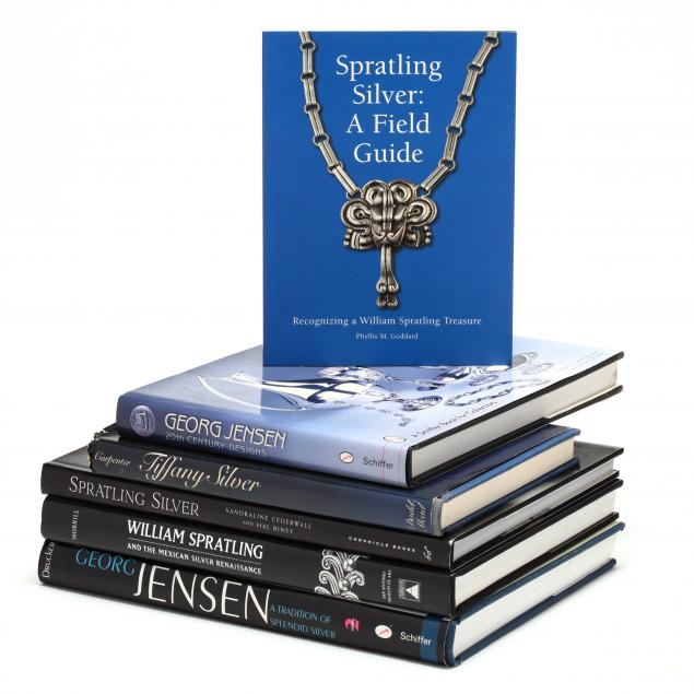 group-of-designer-silver-books