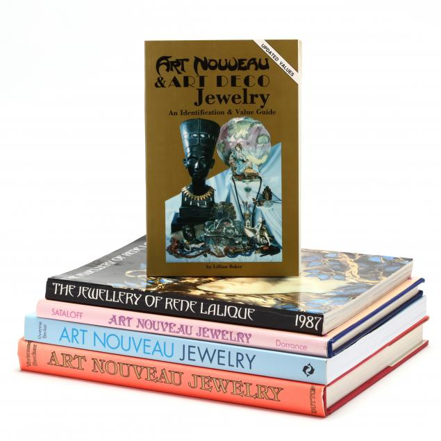 group-of-art-nouveau-jewelry-books