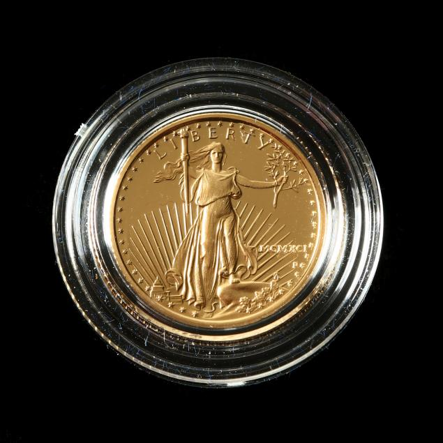 1991-proof-5-american-eagle-1-10th-ounce-gold-bullion-coin