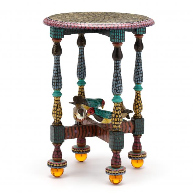 folk-art-table-barbara-burlingame-va