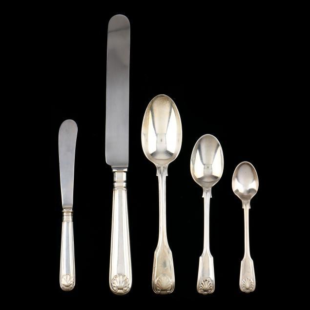 elizabeth-ii-silver-fiddle-thread-shell-flatware-james-robinson
