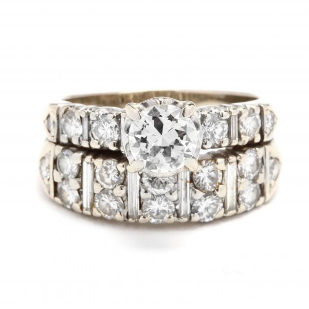 14kt-white-gold-and-diamond-wedding-set