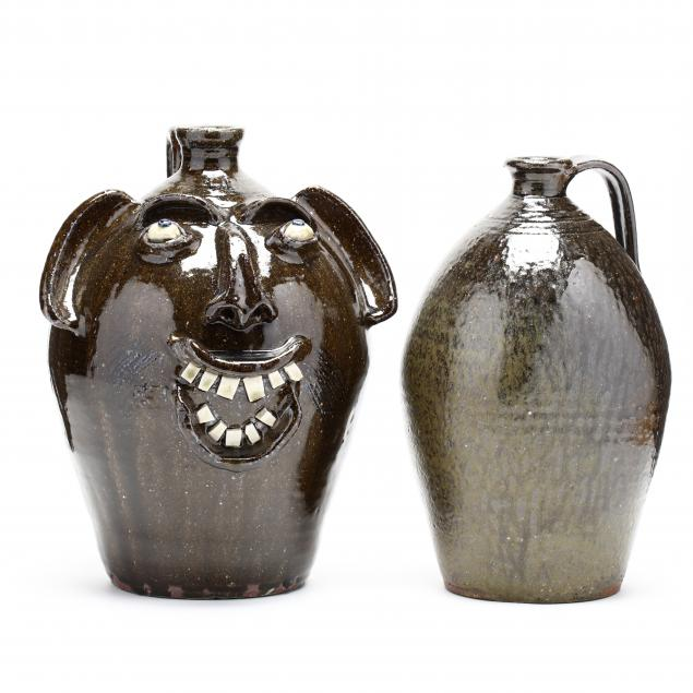 two-folk-pottery-vessels-charles-lisk