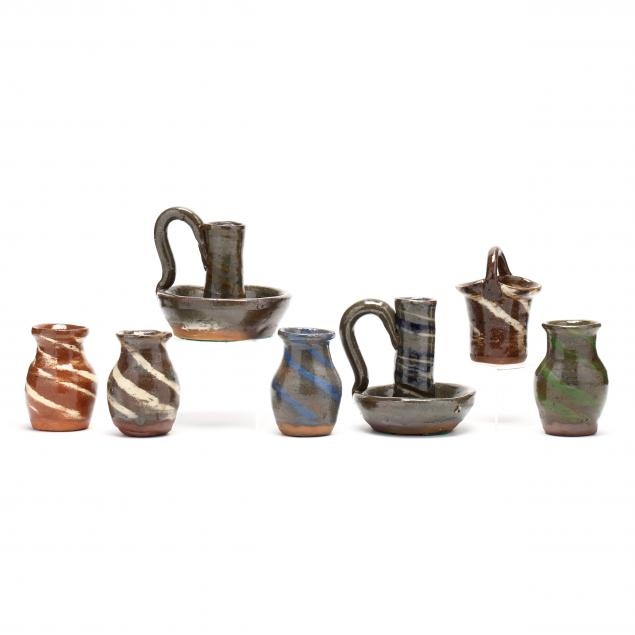 swirl-ware-pottery-grouping-burlon-craig