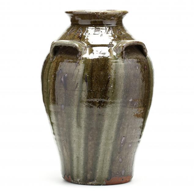 western-nc-folk-pottery-burlon-craig-large-storage-jar
