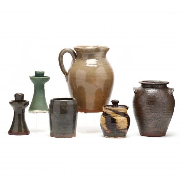 western-nc-pottery-selection