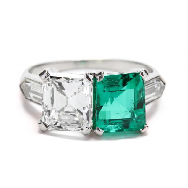 platinum-diamond-and-colombian-emerald-ring