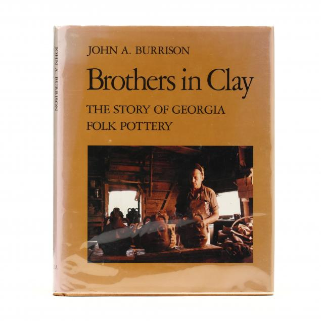 burrison-john-a-i-brothers-in-clay-the-story-of-georgia-folk-pottery-i-signed-by-lanier