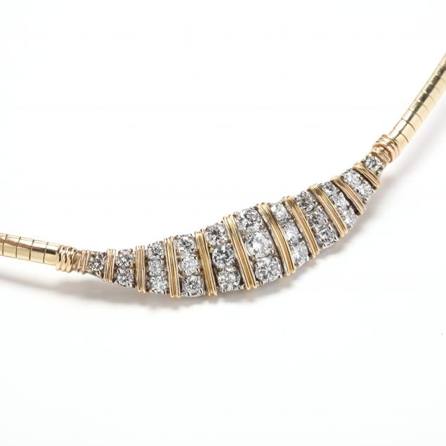 14kt-gold-and-diamond-necklace-italy