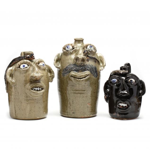 alabama-folk-art-jerry-brown-face-jugs
