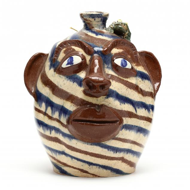 nc-folk-pottery-albert-hodge-face-jug