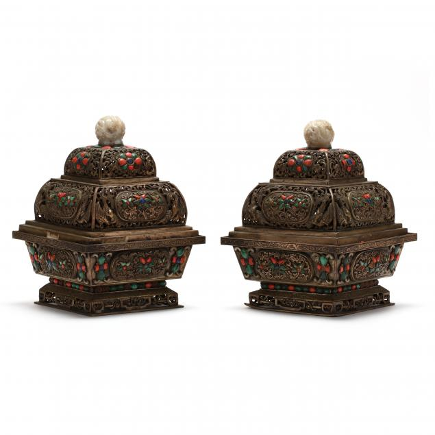 a-pair-of-sino-mongolian-censers-with-inlaid-stones-and-jade