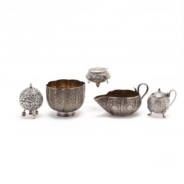 a-group-of-exotic-silver-tablewares