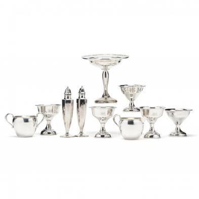ten-pieces-of-sterling-silver-hollowware