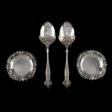 four-edwardian-silver-table-accessories