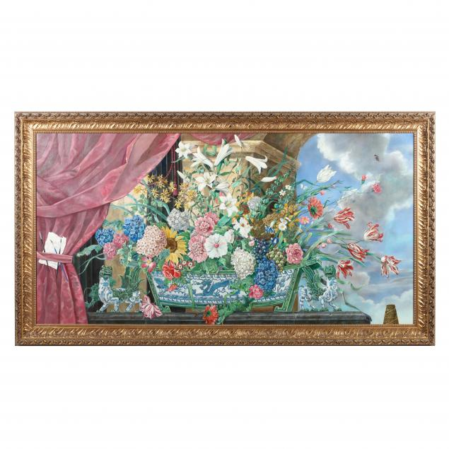 frederic-monpoint-french-chinoiserie-still-life-mural-with-flowers