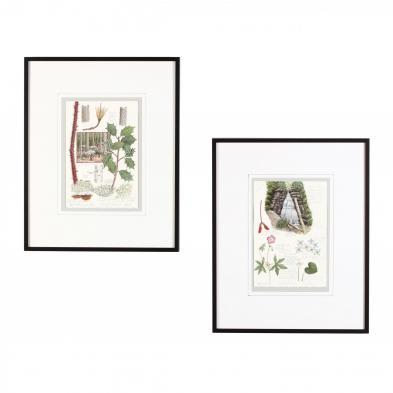 robert-johnson-celo-nc-two-original-watercolors