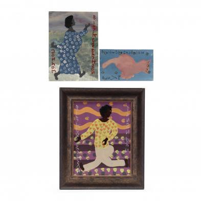 folk-art-painting-black-joe-jackson-ga-1920-1997-three-works