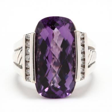 sterling-silver-amethyst-and-diamond-ring-david-yurman