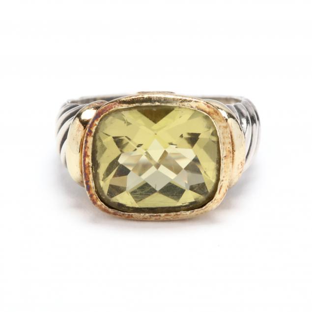 sterling-silver-14kt-gold-and-lemon-citrine-ring-david-yurman