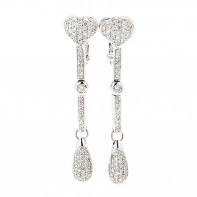 18kt-white-gold-and-diamond-drop-earrings