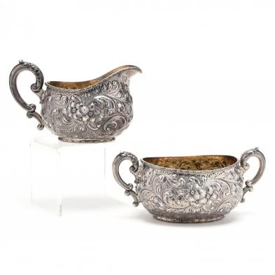 an-antique-dominick-haff-sterling-silver-sugar-creamer-set