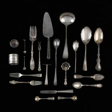 a-collection-of-sterling-silver-flatware-holloware