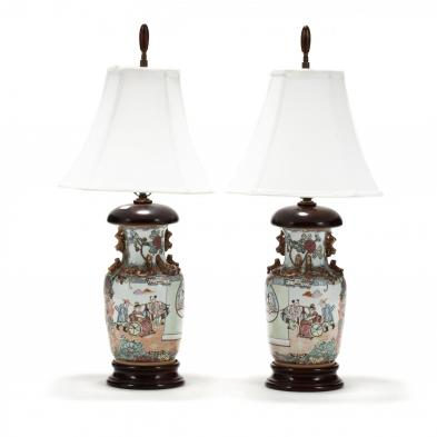 a-pair-of-contemporary-famile-rose-porcelain-table-lamps