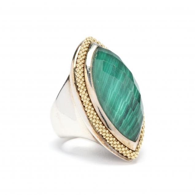 18kt-gold-and-sterling-caviar-gemstone-ring-lagos