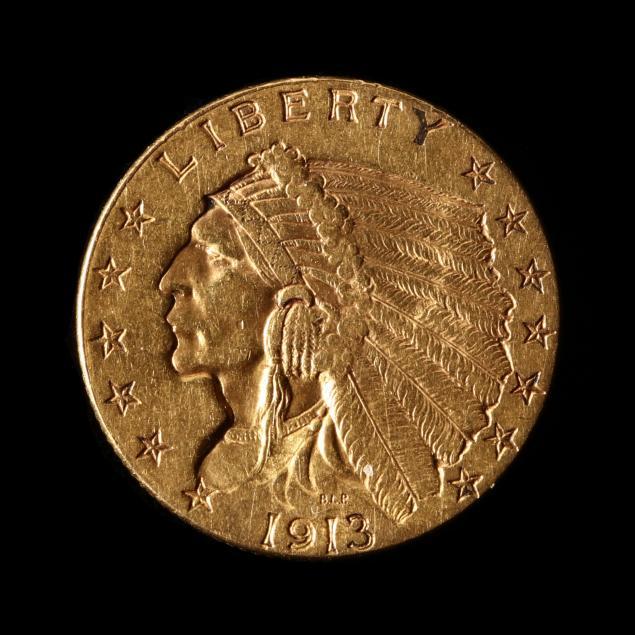 1913-2-50-indian-head-gold-quarter-eagle