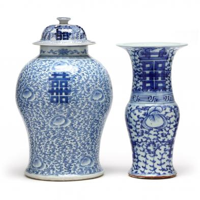 two-chinese-blue-and-white-double-happiness-porcelains