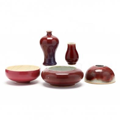 a-group-of-chinese-sang-de-boeuf-porcelain-ceramics