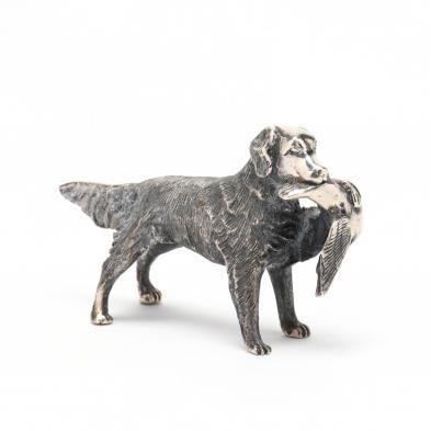 a-sterling-silver-miniature-retriever-by-s-kirk-son