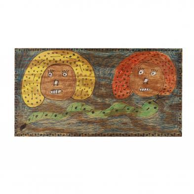folk-art-painting-richard-burnside-sc-b-1944