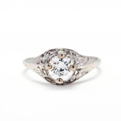 antique-diamond-engagement-ring