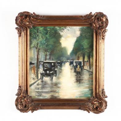 lesser-ury-german-1861-1931-street-scene